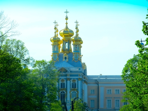 Spires of Catherine Palace
