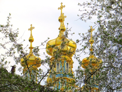 Spring at the Catherine Palace