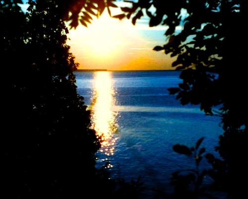 012 Sunset on Lake Superior