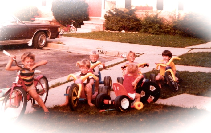 1981 Kids on Big wheels