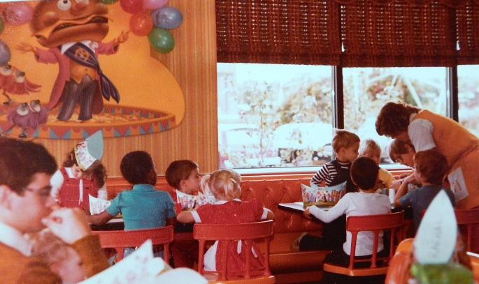 McDonald's Birthday party