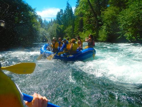McKenzie River White Water Rafting