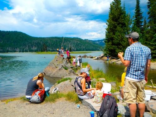Picnic on Spark's Lake