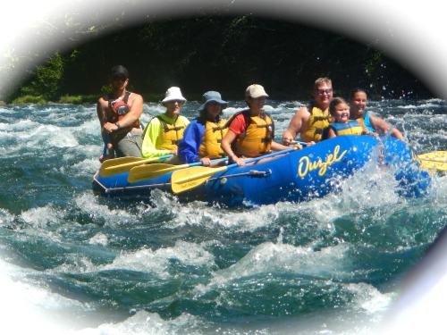 Rafting on the McKenzie