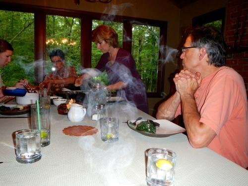 Steaming Dinner!