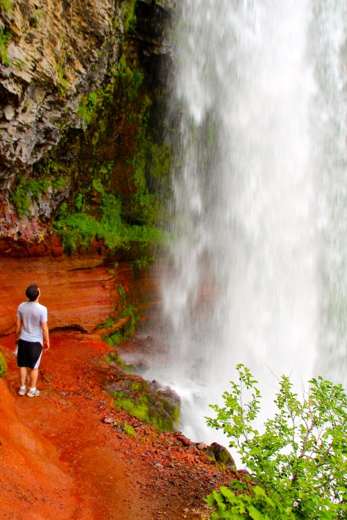 Tumalo Falls 97' Plunge