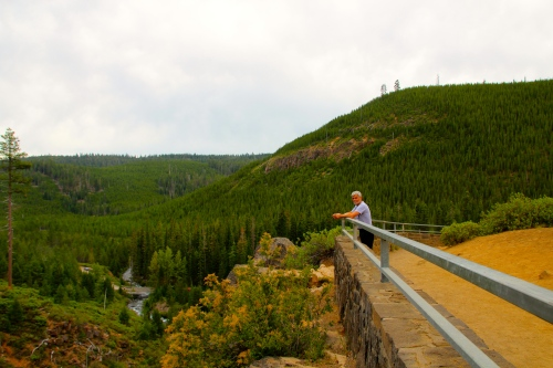 Tumalo Falls Viewing Platform