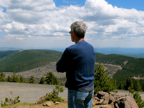 View from Paulina Peak Trail