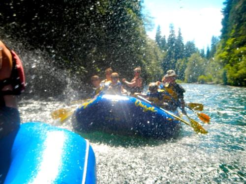 Water fight on McKenzie River