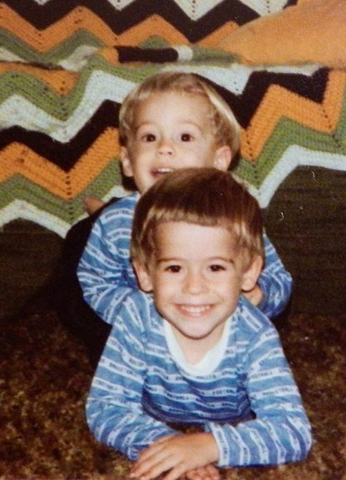 1981 Aaron + Mike