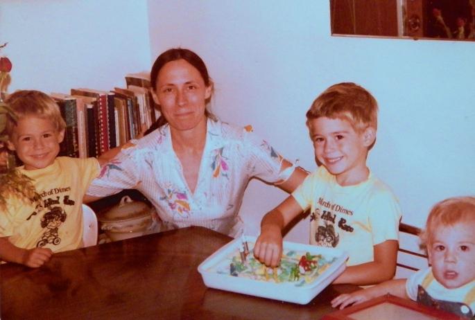 Aaron's Birthday 1981
