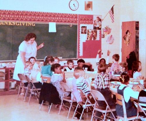Aaron's Kindergarten Class