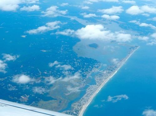 Boston. Aerial view