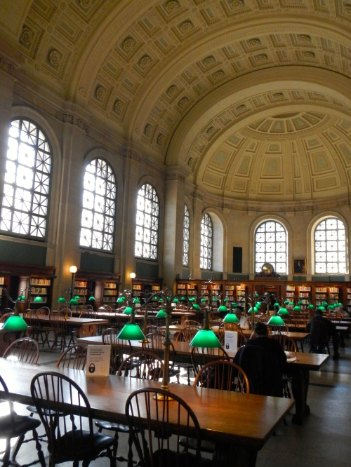 Boston Library Study Area