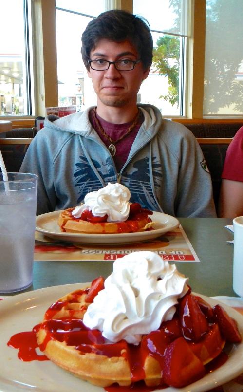 Breakfast at Big Boy