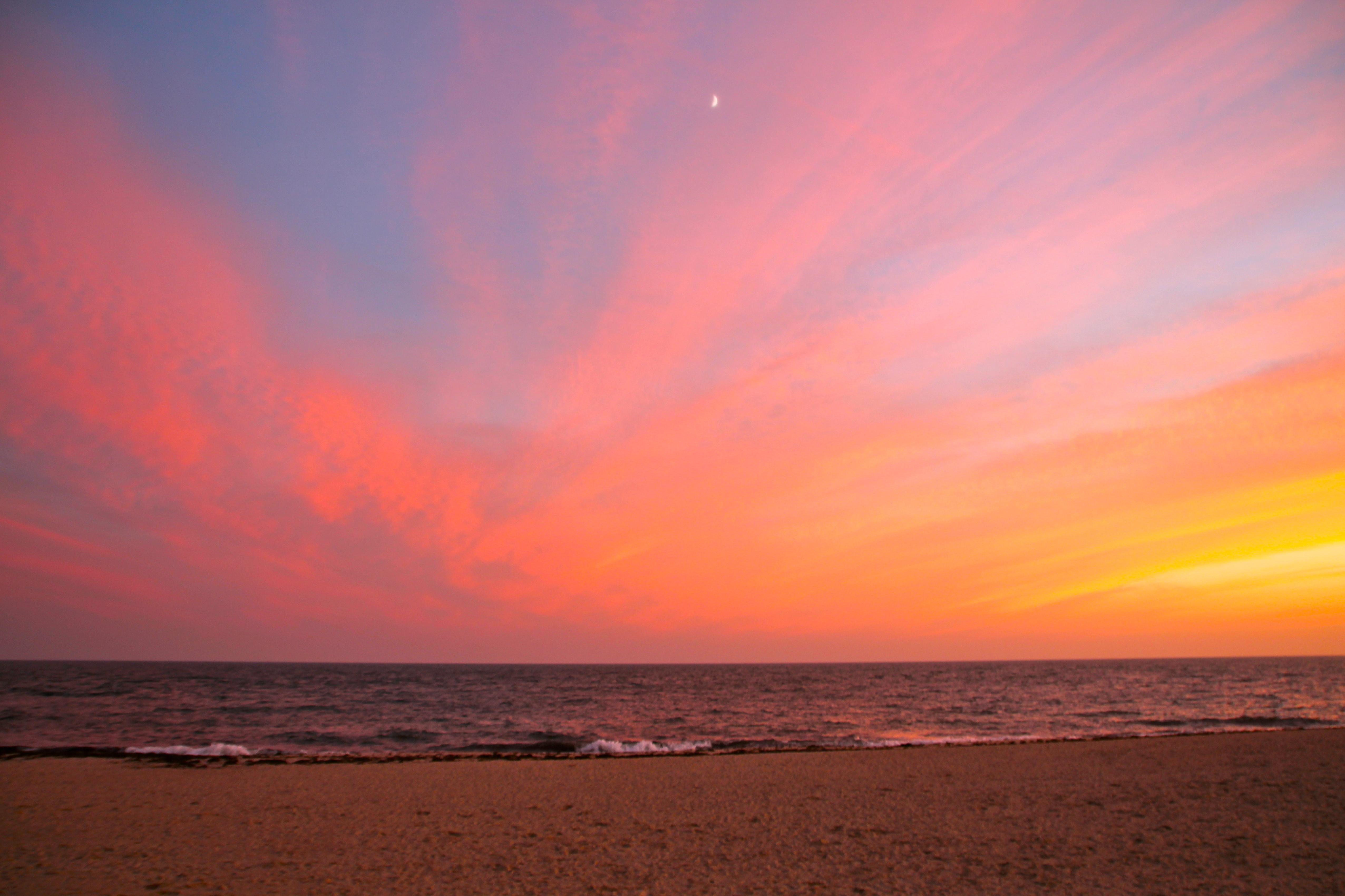 Cape Cod Sunset over Atlantic