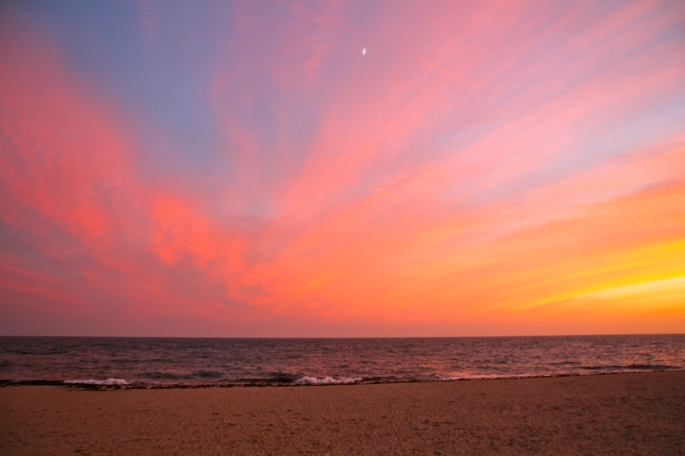 Cape Cod Sunset over Atlantic