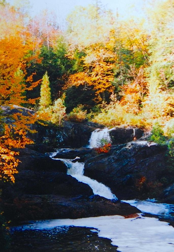 Dead River in Fall