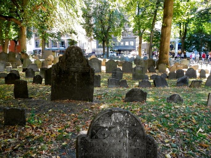 Granery Burial Ground 1660