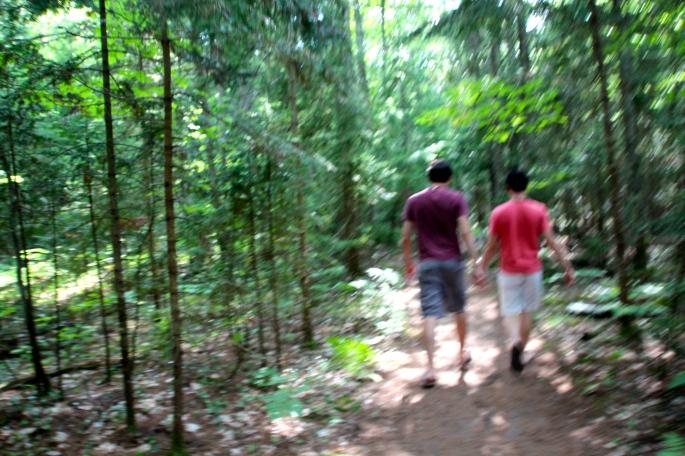 Hike to Munising Beach