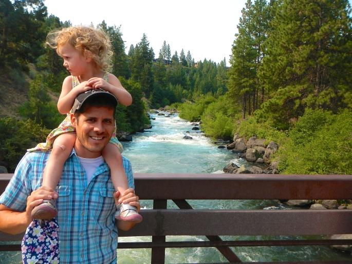 Jon and Ame at Deschutes River