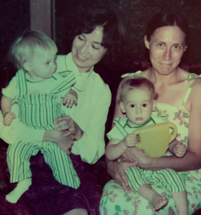 Joyce, Katie, Kathy, and Me