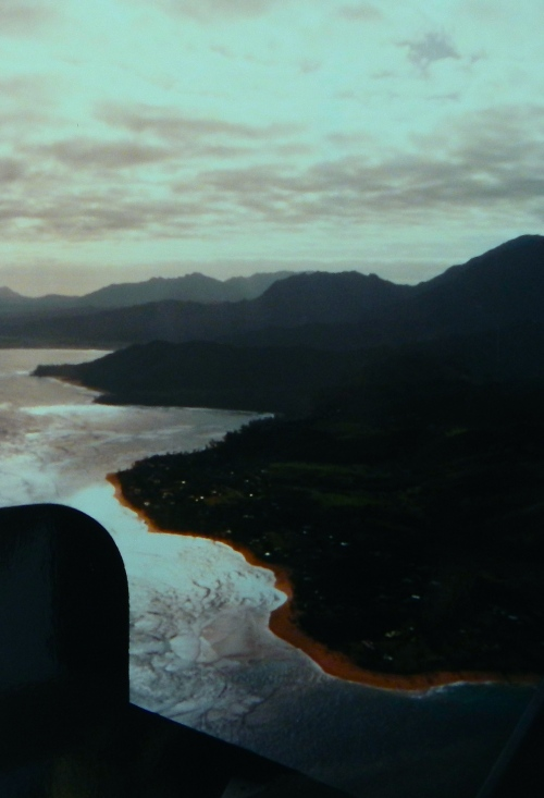 Kaui from helicopter