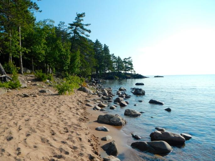 Lake Superior Coastline