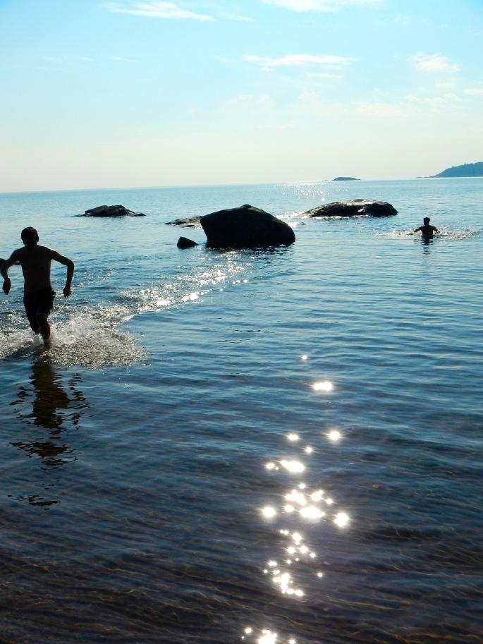 Lake Superior Water Play