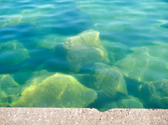 Lake Superior's Clear Water