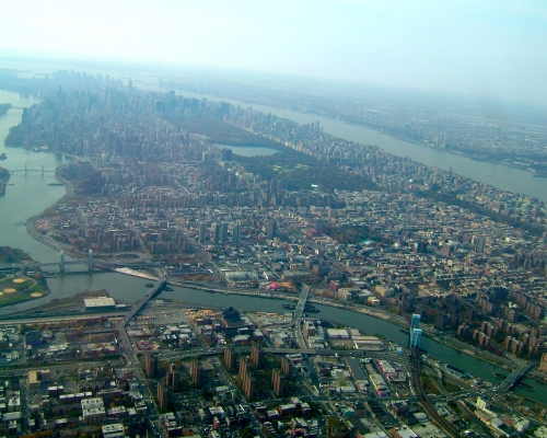 Manhattan from the air copy