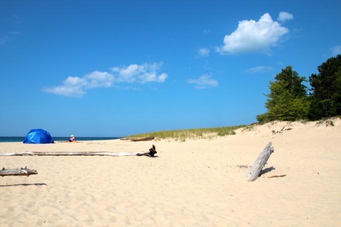 Munising Beach.
