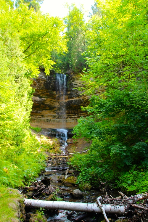 Munising Falls and Stream