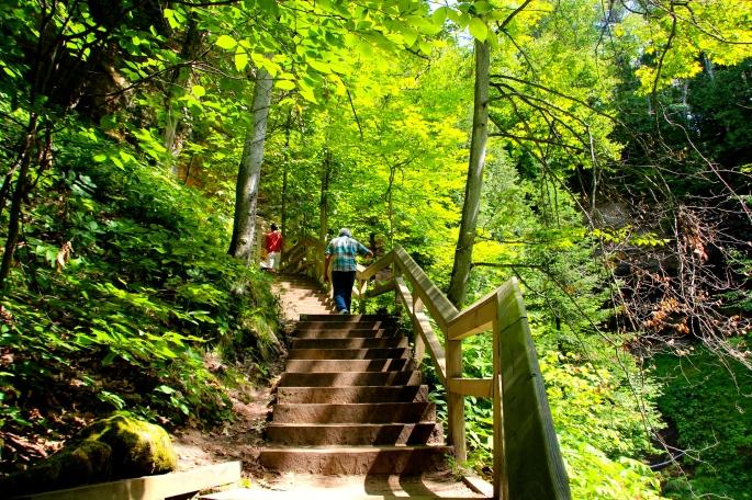 Munising Falls Stairway