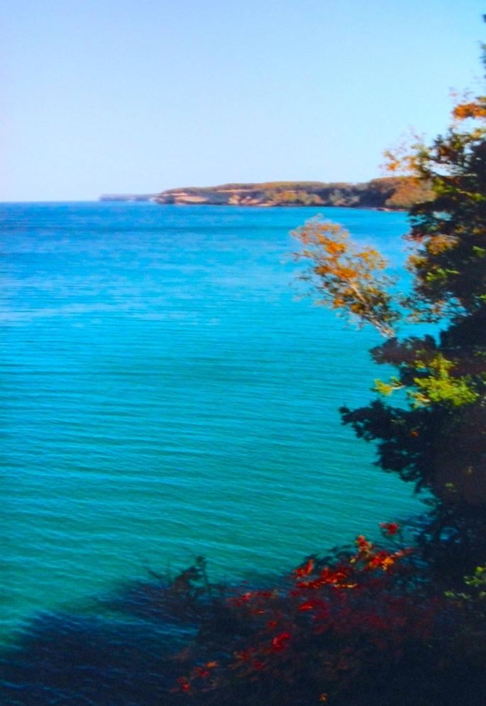 Munising National Lakeshore in Fall