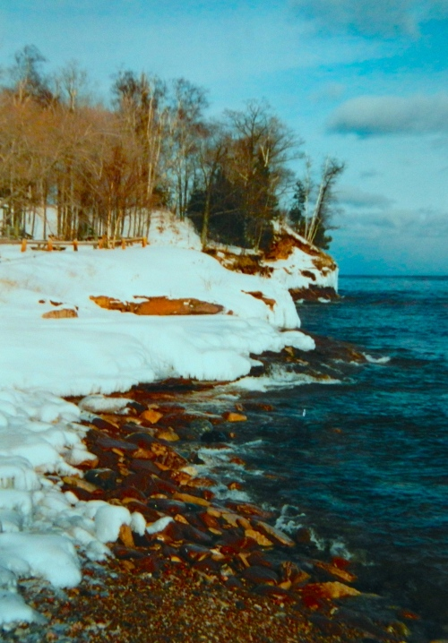 Presque Isle. Winter