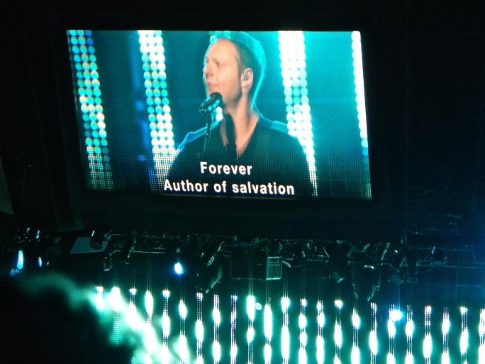 Reuben Morgan leading worship