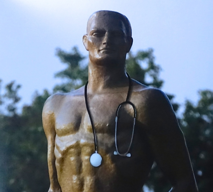 Sparty with a Stethoscope