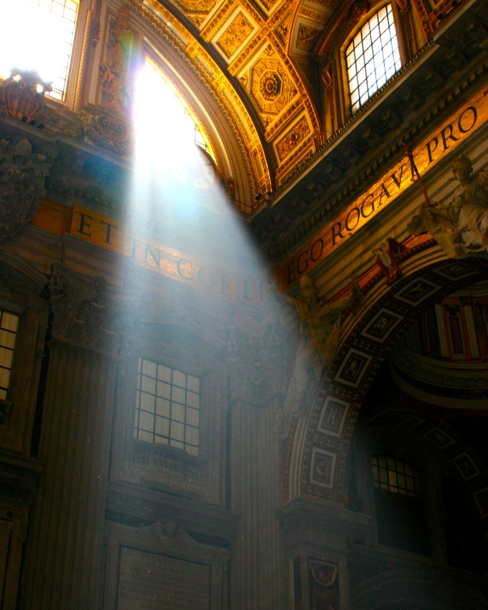 Sunlight in St. Peter's copy 2