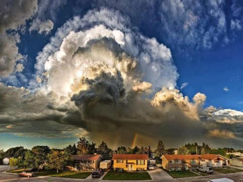 Supercell Storm Cloud. USA