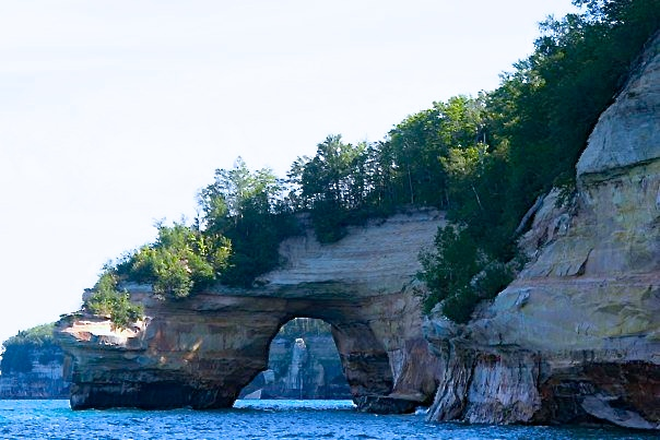 Unusual Arches of Pictured Rocks