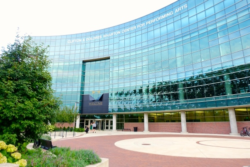 Wharton Center, E. Lansing. MSU