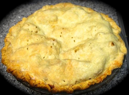 Birthday Apple Pie