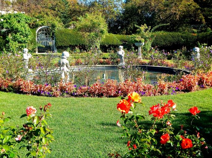 James P. Kelleher Rose Garden Pool