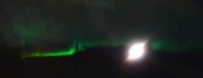 Northern Lights. Arctic Circle