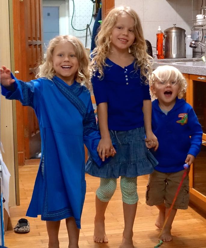 Three Children