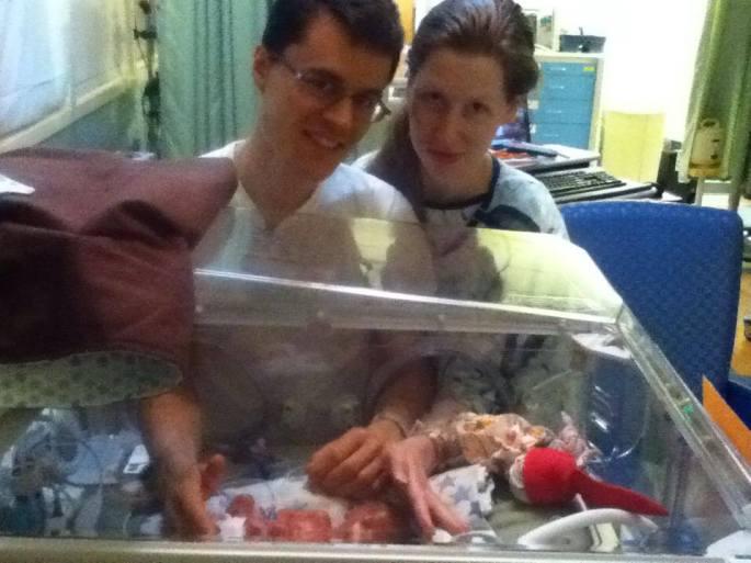 Parents with 27.5 week preemie