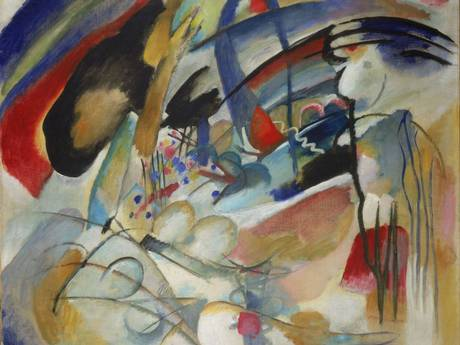 Kandinsky's improvisation 33