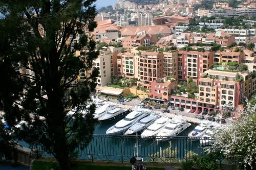 Monaco on Mediterranean