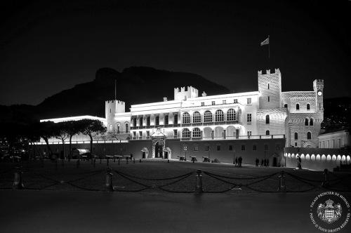 Saint Patrick - Illuminations de la Façade du Palais Princier 2